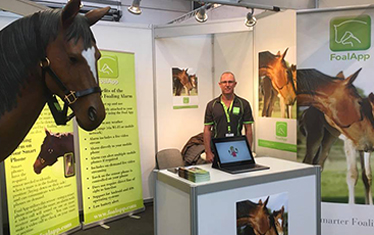 FOAL APP AT EQUITANA GERMANY