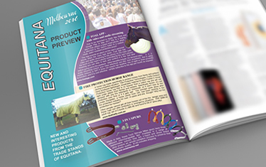 FOAL APP IN HOOFBEATS MAGAZINE