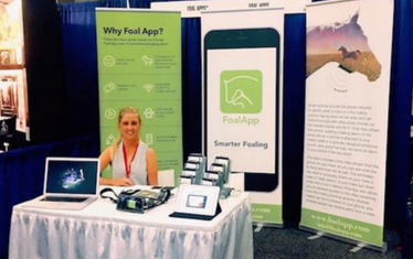 FOAL APP AT AAEP CONVENTION USA