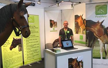 Foal App Exhibition in Germany